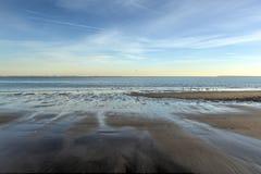 Plage de Brighton et de Coney Island photo libre de droits