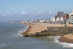 Plage de Brighton. Le Sussex est. LE R-U photos stock