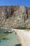 PLAGE DE BUTTERFLY VALLEY, TURQUIE - 1ER JUIN Photo stock
