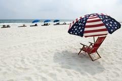 Plage de côte de Golfe Photographie stock libre de droits