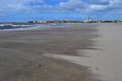 Plage de Cabo Polonio Photos libres de droits