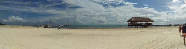 Plage de Cancun Photos libres de droits