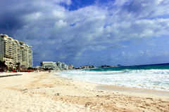 Plage de cancun Stock Image