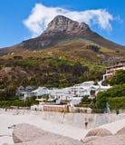 Plage de Capetown Photos libres de droits