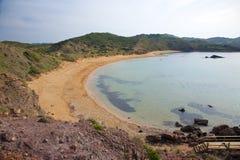Plage de Cavalleria chez Menorca Image libre de droits