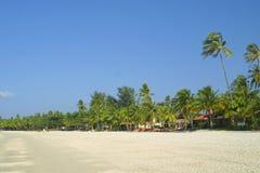 Plage de Cenang sur l'île de Langkawi Photo libre de droits