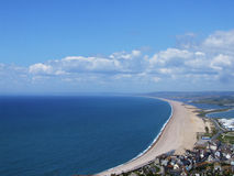 Plage de Chesil Photo stock