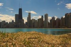 Plage de Chicago Photographie stock libre de droits