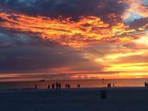 Plage de Clearwater Image libre de droits