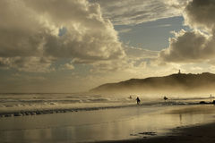Plage de compartiment de Byron, Australie Image libre de droits