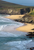 Plage de compartiment de Dunquin Photos stock