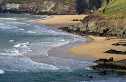 Plage de compartiment de Dunquin Photo libre de droits