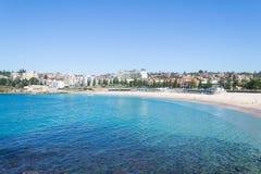 Plage de Coogee à Sydney Photos libres de droits