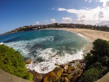 Plage de Coogee photographie stock