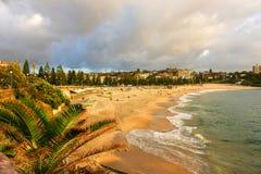 Plage de Coogee, Sydney Australia Images stock
