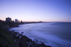 Plage de Coolum Photographie stock