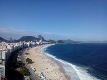 Plage de Copacabana photographie stock