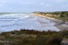Plage de Coronilla de La, Uruguay Photo stock