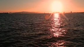 Plage de coucher du soleil clips vidéos