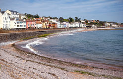 Plage de Dawlish, Devon, R-U images stock