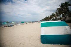 Plage de Deerfield, la Floride faisant face à des sud Photographie stock
