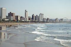 Plage de Durban images libres de droits