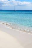 Plage de Formentera image libre de droits