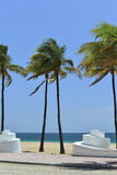 Plage de Fort Lauderdale Photo stock