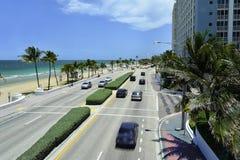 Plage de Fort Lauderdale Image stock