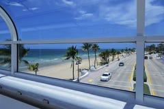 Plage de Fort Lauderdale Image libre de droits