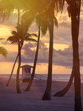 Plage de Fort Lauderdale photographie stock