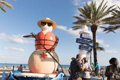 Plage de Fort Lauderdale, la Floride photographie stock