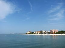 Plage de Fort Myers, la Floride Photo stock
