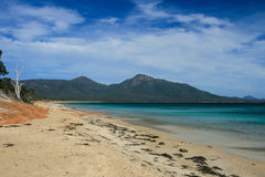 Plage de Freycinet Images stock