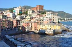 Plage de Gênes Image libre de droits