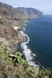Plage de Gaviotas dans Tenerife, Îles Canaries, Espagne images stock