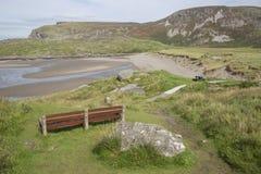 Plage de Glencolumbkille ; Le Donegal Image libre de droits
