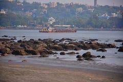 Plage de Goa photos stock