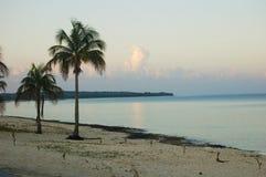 Plage de gorda de La de Maria, au Cuba images stock