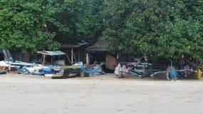 Plage de Jimbaran, île de Bali, indonésienne image stock