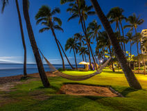 Plage de Kaanapali, Maui, Hawaï Images stock