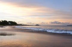 Plage de Keawakapu, Kihei, Maui, Hawaï photographie stock libre de droits