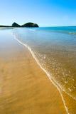 Plage de Kemp, côte de Capricorne, Queensland, Australie Image stock