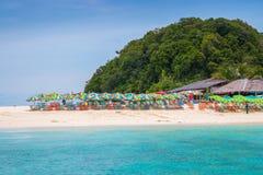 Plage de Khainui à Phuket Photo stock