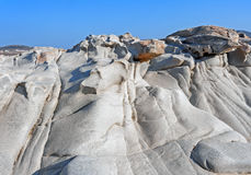 Plage de Kolymbithres d'île de Paros en Grèce photographie stock
