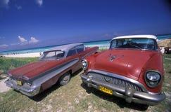 PLAGE DE L'AMÉRIQUE CUBA VARADERO Image libre de droits