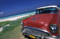 PLAGE DE L'AMÉRIQUE CUBA VARADERO Photo libre de droits