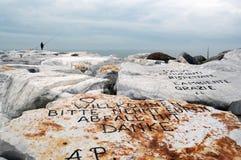 Plage de l'amour, Toscane l'Italie Photos libres de droits