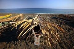 PLAGE DE L'ASIE TIMOR ORIENTAL TIMOR ORIENTAL BETANO Image libre de droits