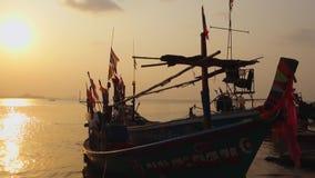 Plage de la BO Phut, Ko Samui, Tha?lande, Asie banque de vidéos
